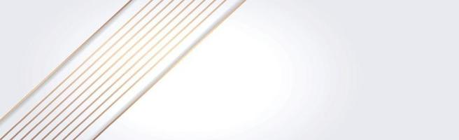 White vector panoramic background with straight lines and shadows