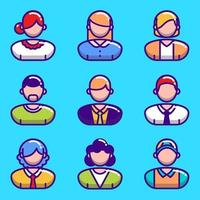 People Icon Collection vector