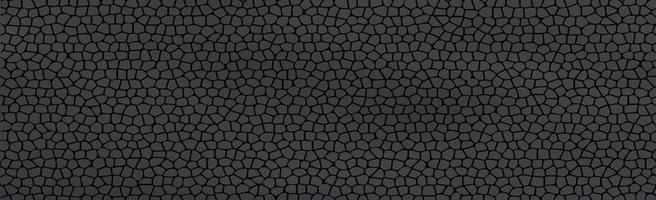 fondo panorámico con textura negro oscuro vector
