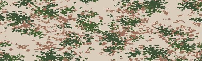 Military or hunting panoramic khaki vector