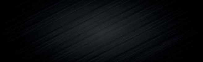 Fondo panorámico con textura negro oscuro abstracto - vector