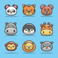 Cute Animal Icon Collection