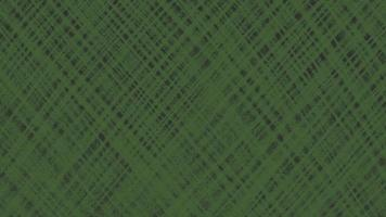 Motion abstract geometric green lines on black textile background video