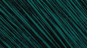 Motion abstract geometric blue lines on black textile background video
