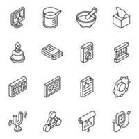 Health Products Glyph vector