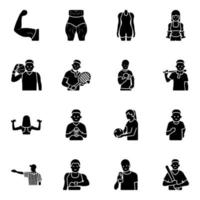 Sports Equipment Flat vector