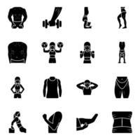 Aerobics and Workout vector