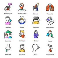 enfermedades y trastornos vector