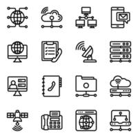 Networking and Communication vector