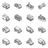 Automobiles and Transport vector