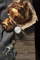 estilo tradicional de pan de muertos foto