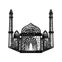 Mosque Line icon Illustration design template vector