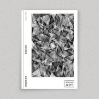 Abstract minimal design for flyer, poster, brochure cover, portfolio template, wallpaper, typography, or other printing products. Vector illustration