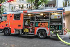 camión de bomberos foto