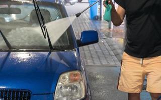 Car wash or auto wash photo