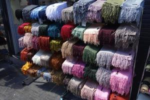 Scarves for sale photo