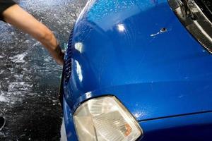 lavado de autos o lavado automático foto