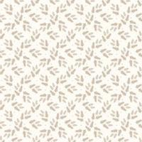 Scandinavian style.Pattern of leaves, twigs and twigs in warm beige colors. Design for greeting Christmas cards, invitations, advertising, organic packaging vector