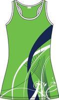 maquetas de vestidos de hockey vector