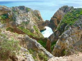 Coast in Algarve photo