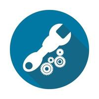 Service Tool icon on white background,Simple design style.vector illustration vector