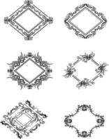 Border Decorative Elements Templates Vector
