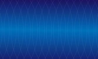 Wavy smooth lines pattern background with blue color vector