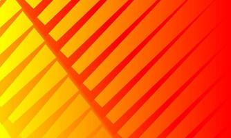 Orange abstract background wrapped in sharp lines vector