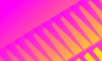 Pink abstract background wrapped in sharp lines vector