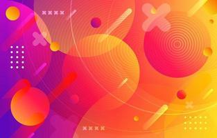 Fondo colorido abstracto vector