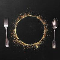 plate silhouette tableware . High quality and resolution beautiful photo concept