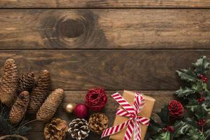 present box near ornament snags green twig . High quality and resolution beautiful photo concept