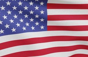 concepto de elecciones estadounidenses con la bandera de Estados Unidos. concepto de fotografía hermosa de alta calidad y resolución foto