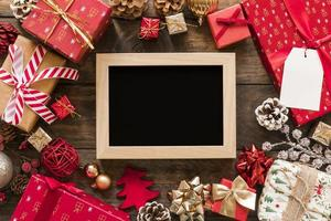 photo frame gift boxes set christmas decorations . High quality and resolution beautiful photo concept