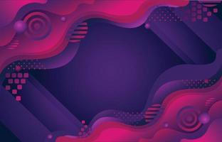 Dynamic Purple Background Waves vector
