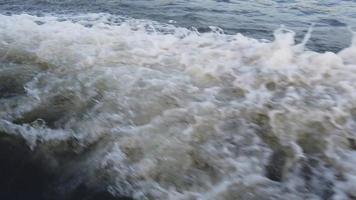 sommar havsvåg bakgrund video