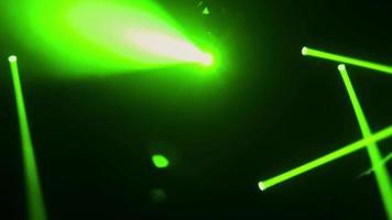 Konzertbühne Scheinwerfer abstrakter Hintergrund video