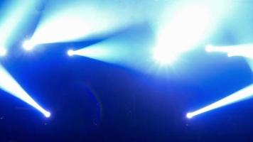 abstrakter bunter Scheinwerferkonzertbühnenhintergrund video