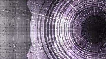 Modern technology background vector