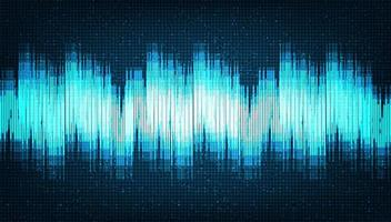 Sound Wave Background technology and earthquake wave vector