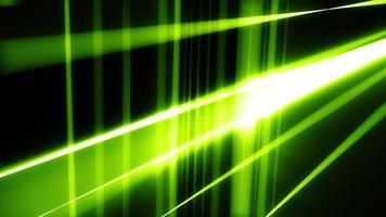 fond de technologie abstraite avec des rayons de lumière laser en boucle video