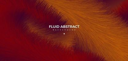 Warm color fashion trend fur texture fluid gradient abstract background vector