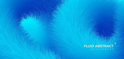Cool color fashion trend fur texture fluid gradient abstract background vector