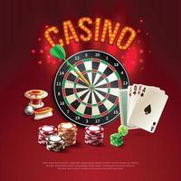 Games Realistic Poster Vector Illustration