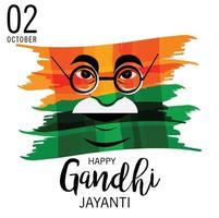 Vector illustration of a Background for 2nd October Gandhi Jayanti Celebration.