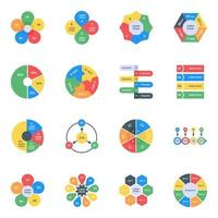Infographics in Editable Style vector