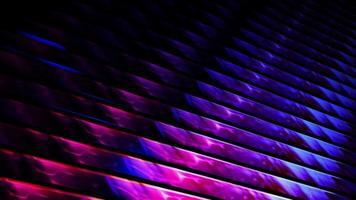boucle de feuilles de métal léger brillant énergie colorée video