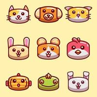 Pet Icon Collection vector