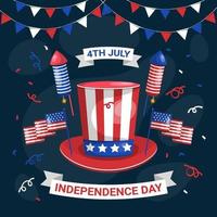 4th of July Independence Day Celebration vector