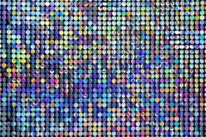 colores de la placa de hierro del arco iris. Patrón de fondo abstracto multicolor de cubos de colores foto